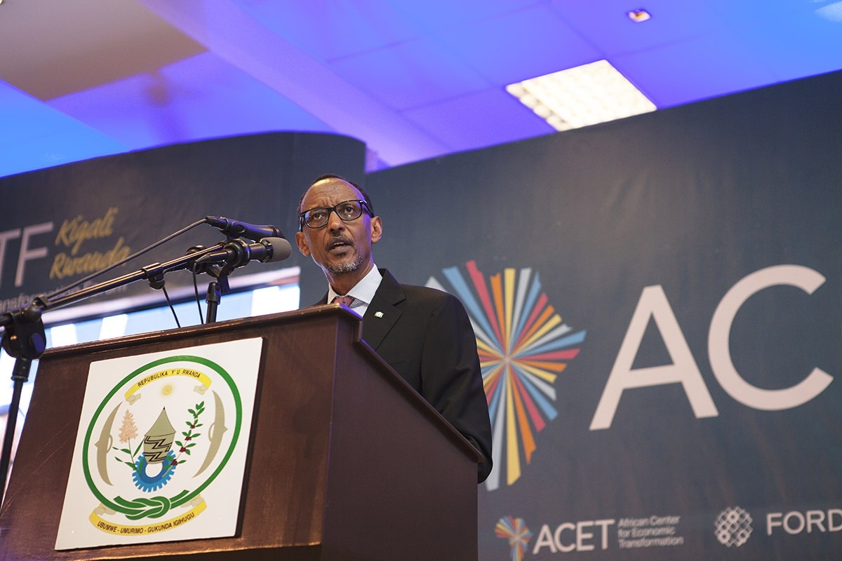 Ford Graduate Scheme >> Change mindsets to change society... By His Excellency, Paul Kagame, President of the Republic ...