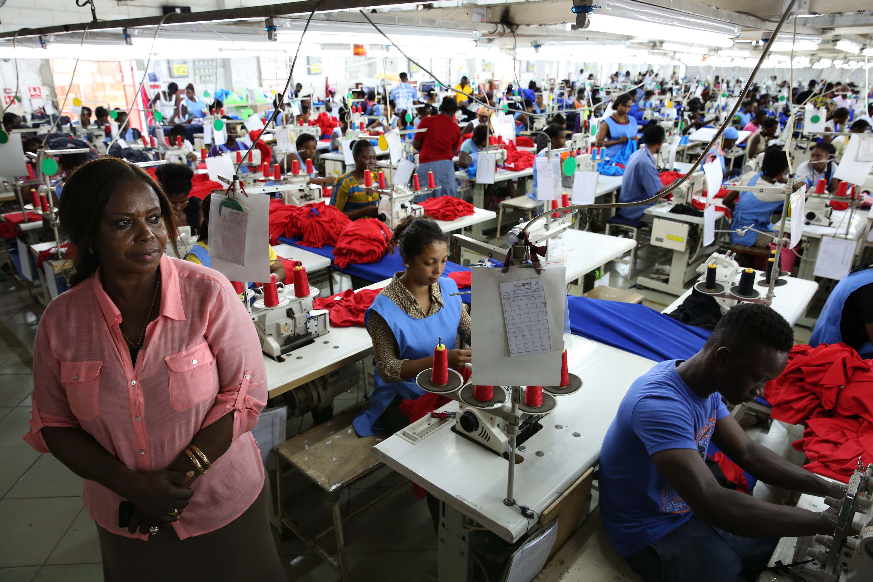 can africa grow its manufacturing sector create jobs ghana