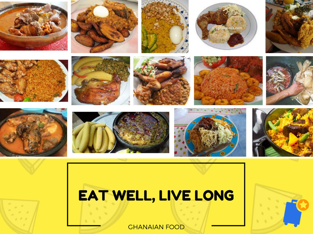 Healthy Ghanaian dishes