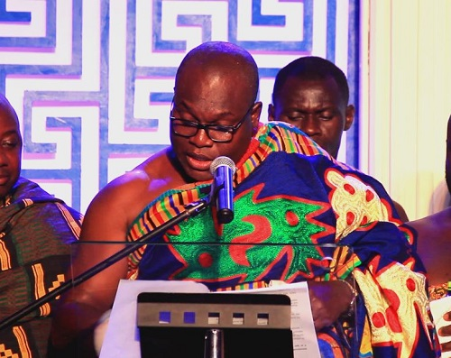 Photo: Odeneho Kwafo Akoto III, Paramount Chief of Akwamu Photo credit: GhHeadlines