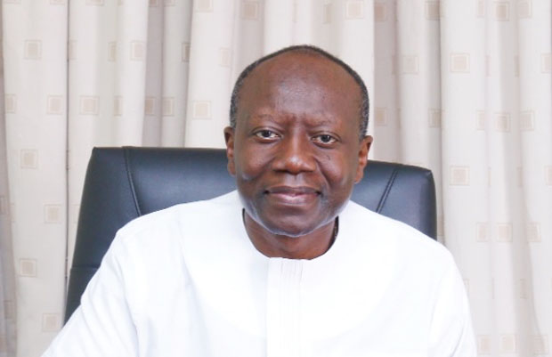 Mr. Ken Ofori-Atta (Minister of Finance, Republic of Ghana)