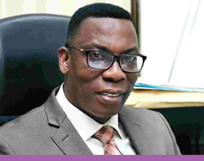 Mr. Justice Yaw Ofori, Commissioner, National Insurance Commission