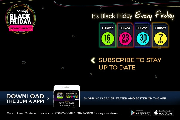Jumia Ghana Black Friday Begins Today Ghana Talks Business