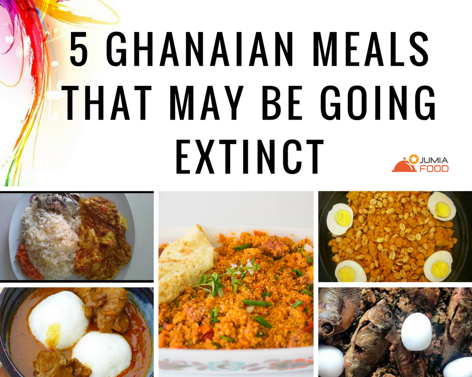 Ghanaian meals going extinct