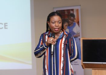 Ms Amma Benneh Amponsah, Head of HR at MTN Ghana, speaking at the second edition of the HR Professionals Brunch held in Accra