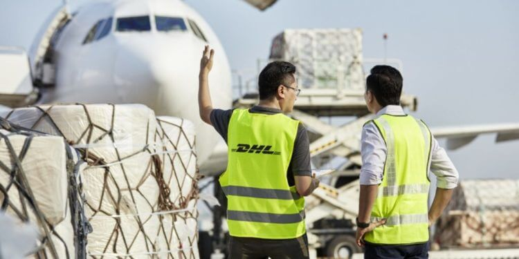 DHL freight service