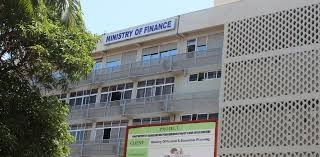 Ministry of finance shuts down