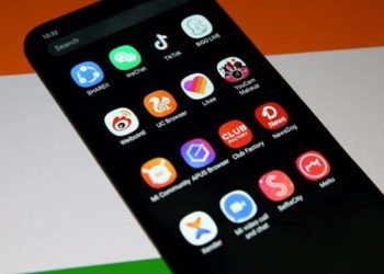 India bans Chinese apps